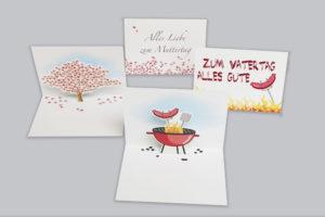Klenke Faltkarten Digitaldruck