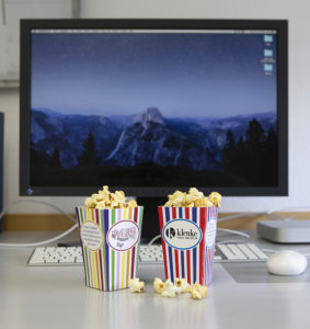 Klenke Popcorntüte Digitaldruck