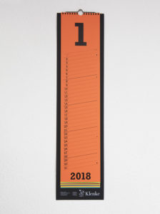 Klenke Streifenkalender Digitaldruck