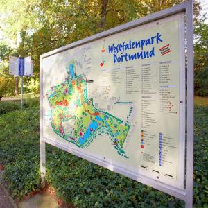 Klenke Westfalenpark Schilder