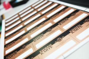 Klenke Checkkarten Siebdruck