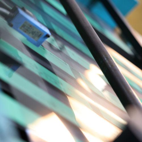 Klenke Siebdruck Druck am laufenden Band